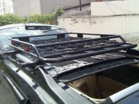 Корзины на крышу автомобиля стальные
