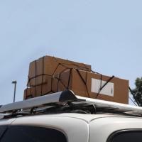Корзина Багажника  140х100 цвет серый низкий борт