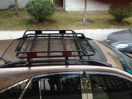 Корзина багажника стальная 120х100