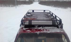 Багажник Экспедиционный 220х125 крепления 15 см