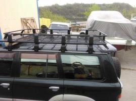 Багажник на Nissan Patrol/Safari 61