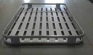 Багажник 140х100 Экспедиционный алюминиевый цвет серый