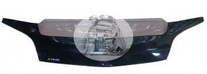 Дефлектор Nissan X-Trail T30 2000-2006 полупрозрачный