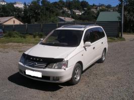 Дефлектор Toyota Gaia M10-M15 1998-2000 полупрозрачный