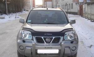 Дефлектор капота  Nissan X-Trail T30 2000-2006 (DS) 569
