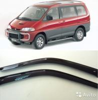 Дефлекторы окон MITSUBISHI DELICAL400SPACE GEAR PD#WPE#W 94-07 (KANGLONG)