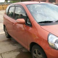 Дефлектор окон HONDA FIT JAZZ GE 07-13 5D (KANGLONG)