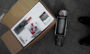 Electric Winch 9500lb  4310 кг стальной трос 12 V_1