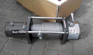 Electric Winch 9500lb  4310 кг стальной трос 12 V_2