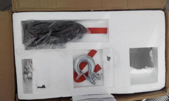 Electric Winch 9500lb  4310 кг стальной трос 12 V