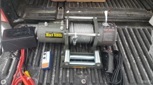 Electric Winch 6000lb  2722 кг стальной трос 12 V_2