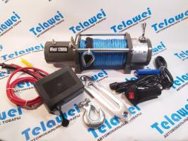 Electric Winch 12000lb  5500  кг синтетический трос  12 V