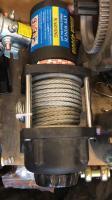 Лебедка 4500 lbs стальной трос 2200 кг