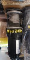 Лебедка atv 2000 lbs синтетический трос 907 кг