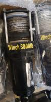 Лебедка 3000lbs синтетический трос 1300 кг